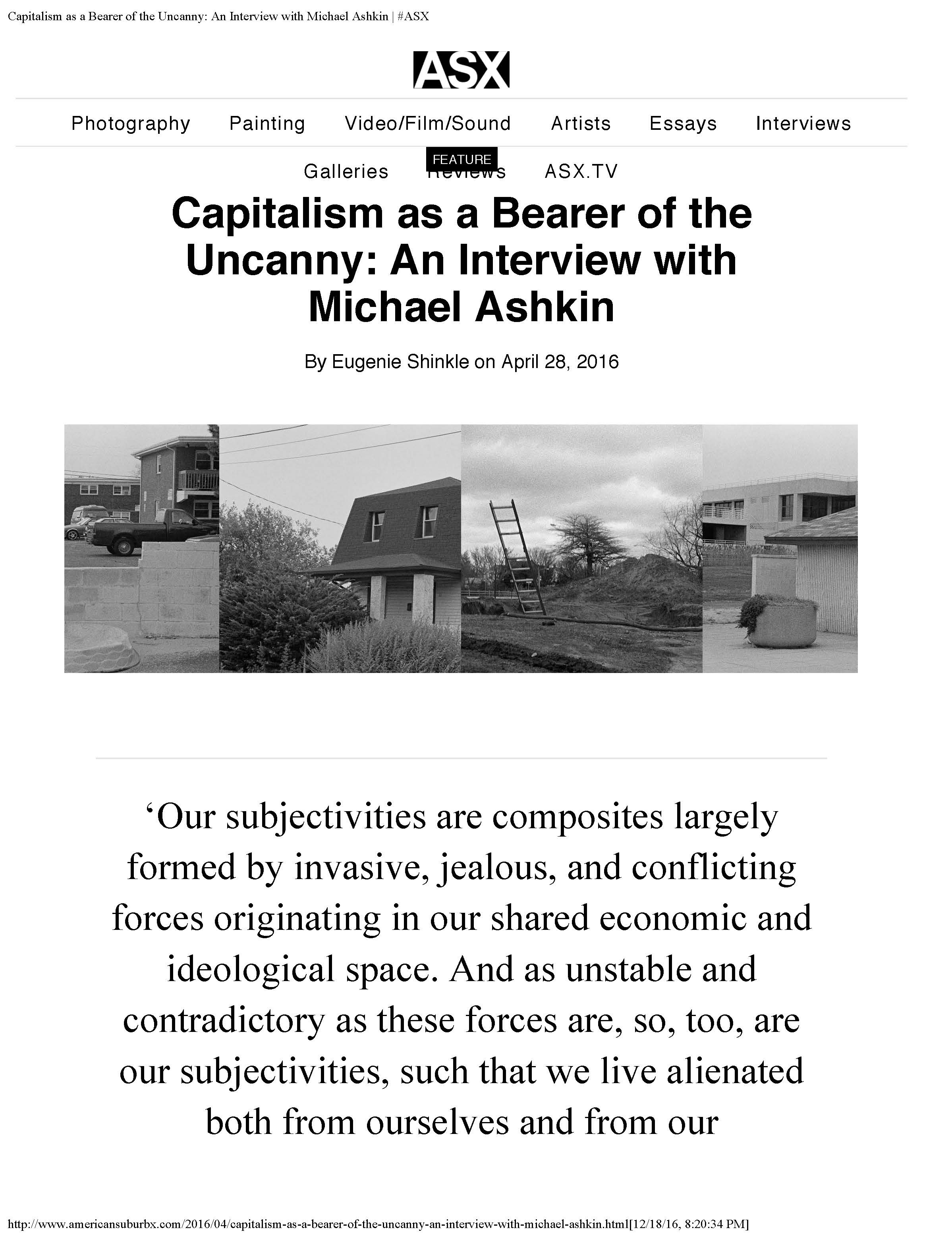 michael ashkin press